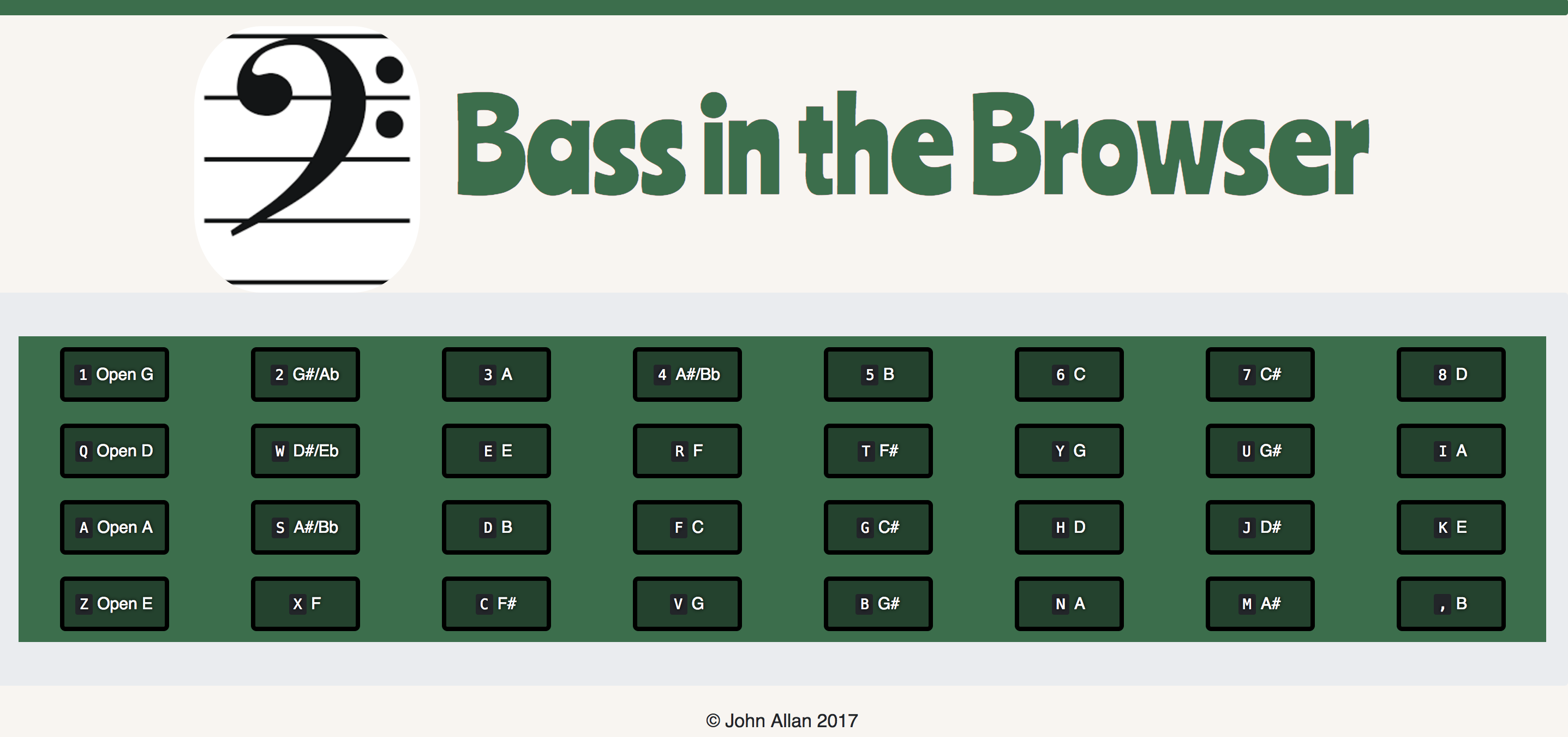 Bass In The Browser